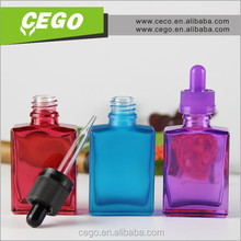 Newly rectangular 30ml perfume bottle mould perfume bottle,glass fix bottle for cosmetic packaging