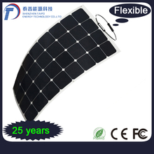 Cleaning Energy 250W Efficiency 32pcs Mono Cells Elastic Solar Panel