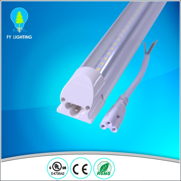 Hot easy intallation 120cm 18w led integrated t8 led tube light 85-265v/ac with UL Energy Star TUV SAA CE ROHS approval