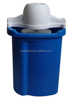6QT Plastic Bucket Ice Cream Maker