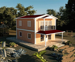 Newest Low cost prefabricated houses prices luxury prefab home villa