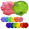 Plastic Funny Wholesale Cheap Piggy Bank