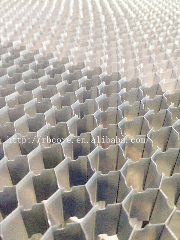 grooving aluminum honeycomb expand