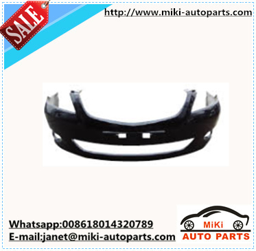 plastic front bumper for BYD G3 chinese car auto spare parts