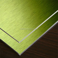 Guaranteed Quality nano pvdf coated color acm aluminum composite panel brushed composite building material in China