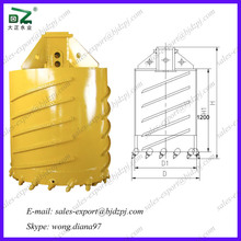Pure Clay Lessediment Formation Used Drilling Bucket