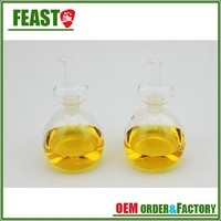 fashion cooking oil bottle size high borosilicate glass olive oil bottle