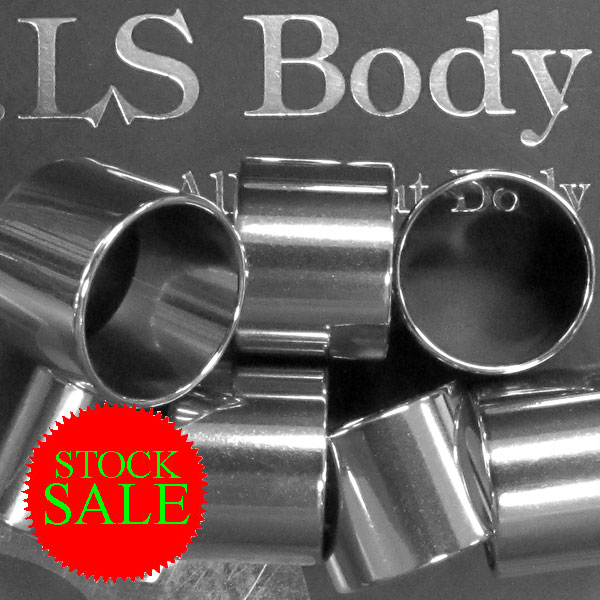Stock Sale! 316L SS Flesh Tube