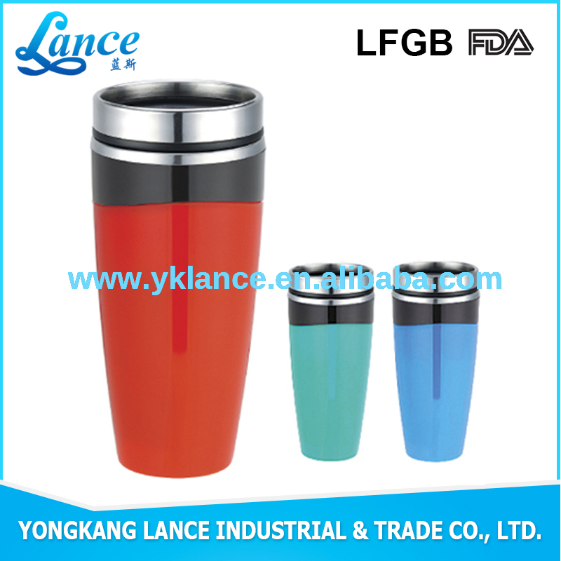Double Wall Hot Color Changing Stainless steel mug souvenir gift