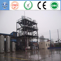 refining equipment processing base oil lubricants with separation equipment