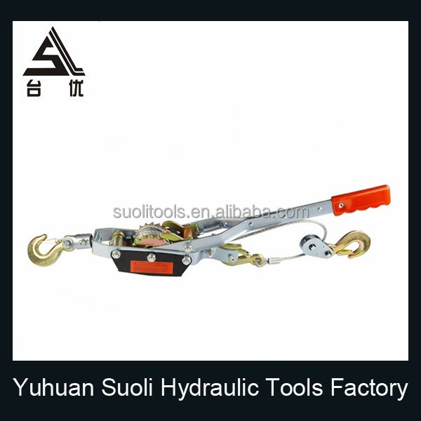 Manufacturing 4T manual chimney puller with double gear triple hook