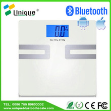Portable Travel Electronic Measure Digital 150kg Personal Weigh Bathroom Percentage Water Visceral Fat Body Scale for Females