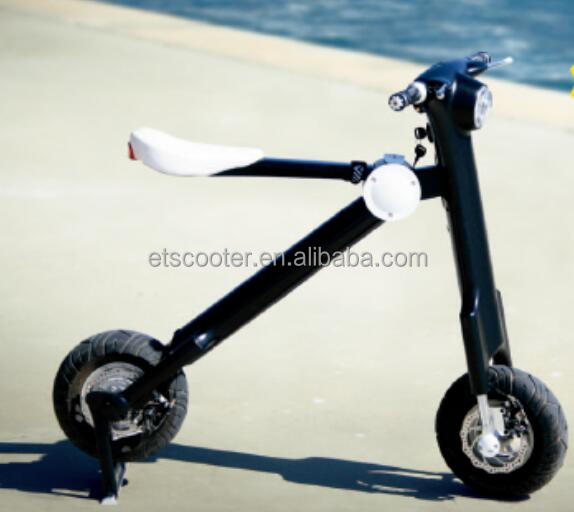2 wheels fast folding 48V lithium battery adult electric motorcycle