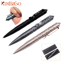 2017 New Multifunction Self Defense Weapon Aluminum Tactical Pen With Custom Logo