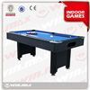 New factory price hot sell ball return system 6ft french billiard table