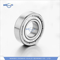 China suppliers High Quality high precision Chrome Steel 6002 2RS Size 15x32x9 Shielded Ball Bearings