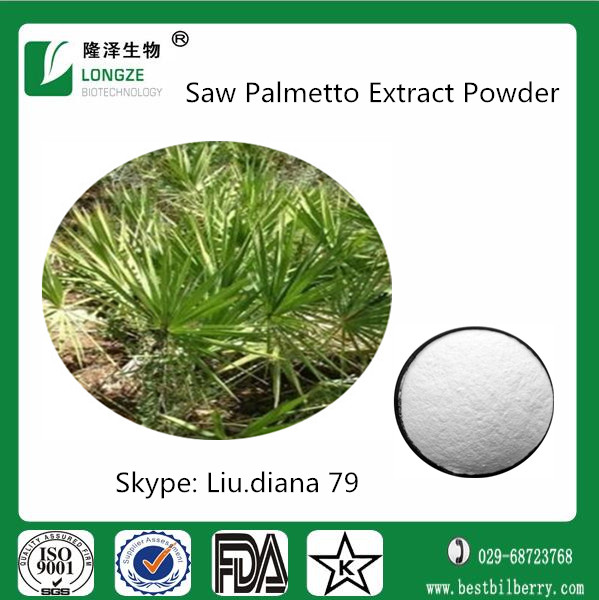 saw palmetto capsules with fatty acid 25%- 45% ( whatsapp: +8615029025639)