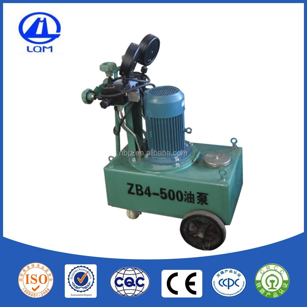 prestressing with hydraulic pump 4HP