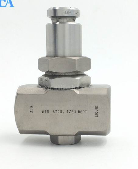 air water stainless steel spray nozzle