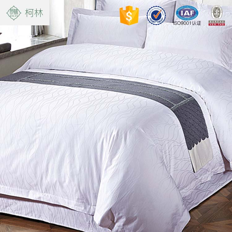 brand name bed sheets special design 100%cotton sateen hotel bedding sets