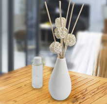 80 ml reed diffuser in a ceramic bottle, rattan diffuser, oil scent diffuser