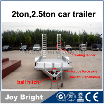 ATV car trailer 2ton 2.5ton