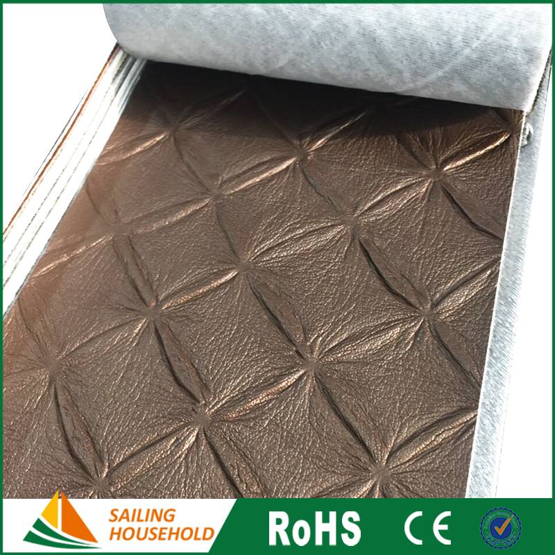 Hot selling leather upholstery fabric, pu leather for mini pad case, colorful household pu leather