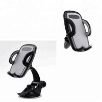 New design 3 in 1 windshield/dashboard factory wholesale car cup holder for 3.5-6 inch cell phone