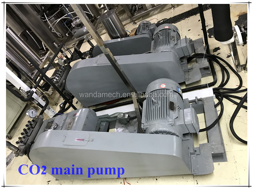 Supercritical co2 fluid natural prickly pear seed oil extraction machine
