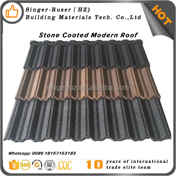 Natural Stone Chips Aluminum Zinc Steel Sheet Wholesale Factory Direct Price Roofing Tiles Price Philippines