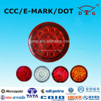 Diameter 120mm wulin, ankai, guangtong 12v led round taillights