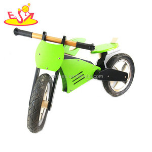 2018 hot sale classic wooden balance running bike for toddlers and kids W16C187