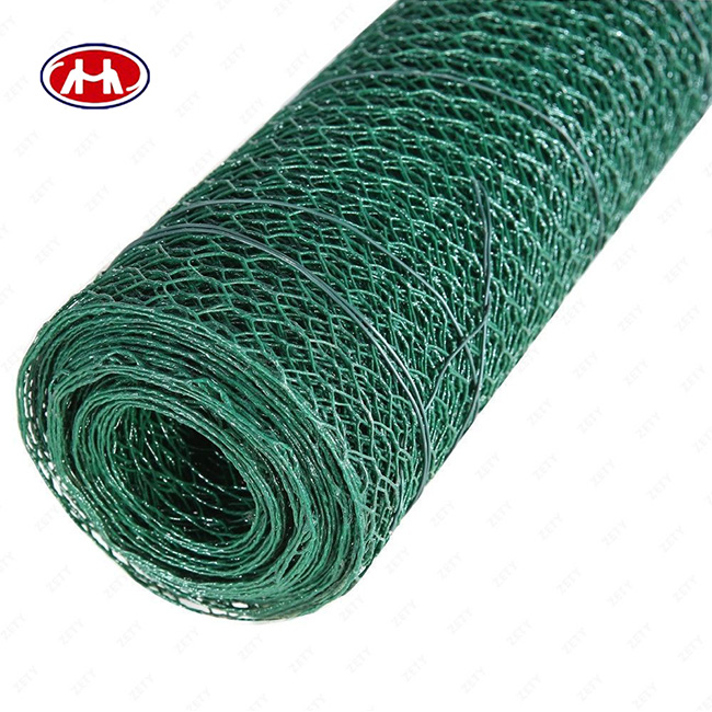 Anping hexagonal small hole chicken wire mesh poultry wire 1/2 hex galvanized /PVC coated wire mesh supplier
