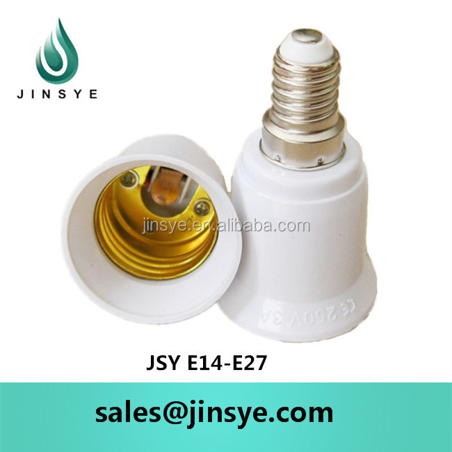 e14 to e27 adapter socket | lamp adapter