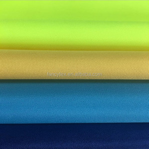 150d polyester oxford fabric 210d 300d oxford fabric with pu coating FACTORY