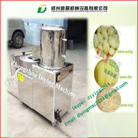 Electric potato chipping machine / Combined potato washing and chipping stripping machine