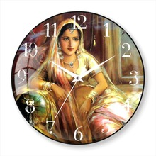 Fashion cheap painting wholesale ajanta wall clock prices