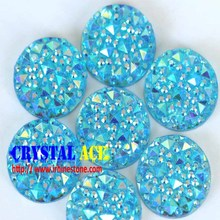 12 mm 200 PCS round shape flat back hand-sew resin stonee, shiny epoxy all star stone for wedding dress