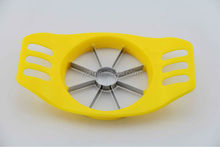 Cute yellow fruit tools medium size plastic spiral slicer for vegetables and fruits