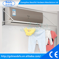 easy install air condition clothes drying rack