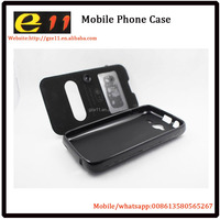 mobile phone case for itel 1403 double window design case