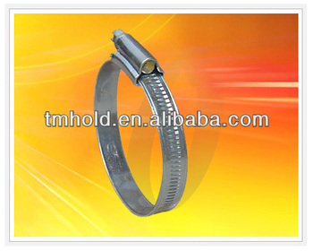 popular large band british types of hose clamps with screw