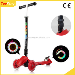 Outdoor Kids Folding Bike Mini Scooters Cheap Kick Scooter / Folding 3 wheel kick scooter
