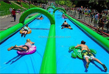 Super qual 300m inflatable slide the city, inflatable water slip n city slide for adults
