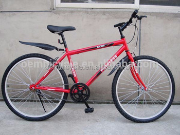 wholesale red single speed mountain bike 26er for sale