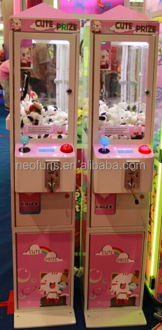 Neofuns New Arrival Arcade Claw Machine for sale, NF-P50A, Super Mini Toy Crane Machine for sale
