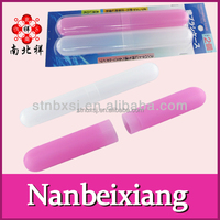 Plastic Toothbrush Box Holder with Cover Travel Toothbrush Case