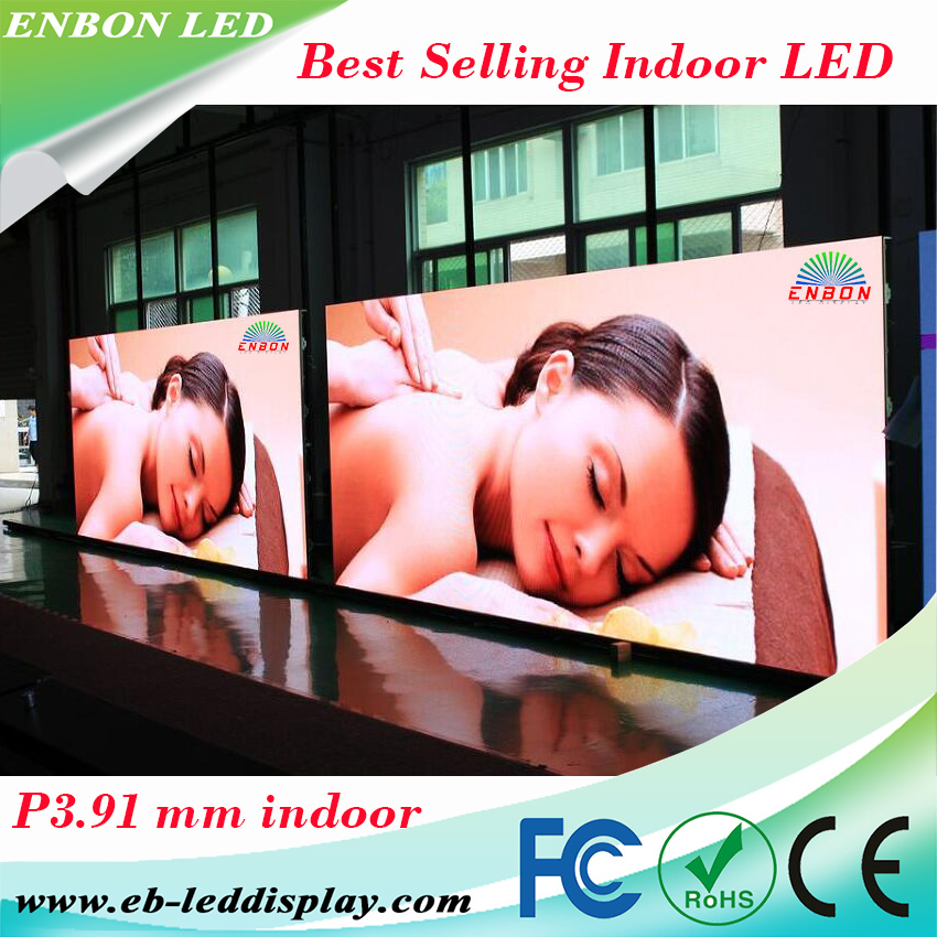 Best selling factory price P3.91 mm indoor rental led wall hd movie screen video display board for stage conference