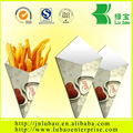 professional, eco-friendly paper cone or bag for chips&fries from China