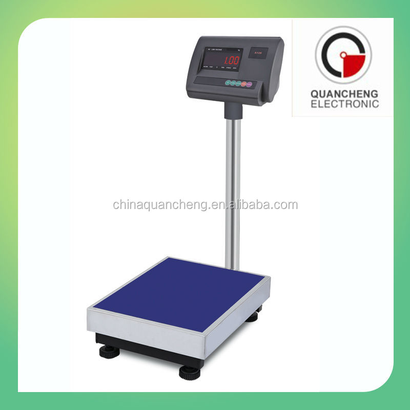 100kg Platform Weighing Scale Electronic Platform Scale A12 Weighing Indicator